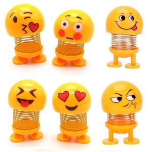 Smiling Face dolls for Car